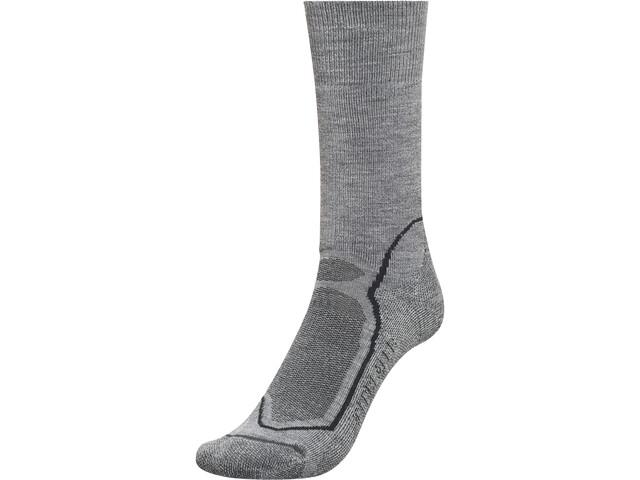Icebreaker Hike+ Medium Crew Socks Herr twister heather/black/monsoon